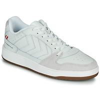 鞋子 男士 球鞋基本款 Hummel ST. POWER PLAY 白色