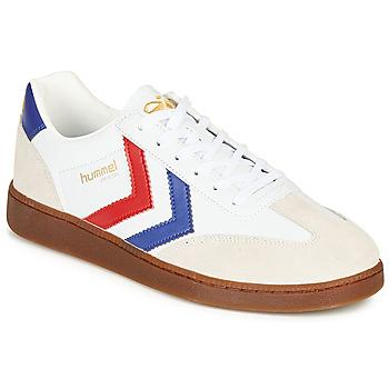 鞋子 男士 球鞋基本款 Hummel VM78 CPH LEATHER 白色 / 红色 / 蓝色