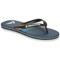 鞋子 男士 人字拖 Quiksilver 极速骑板 MOLOKAI SEASONS 黑色 / 蓝色 / 橙色