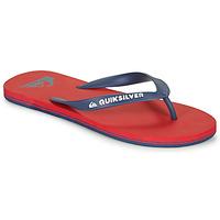 鞋子 男士 人字拖 Quiksilver 極速騎板 MOLOKAI 紅色 / 海藍色