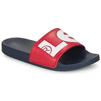 鞋子 男士 拖鞋 Levi's 李维斯 JUNE L 蓝色 / 红色