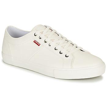 鞋子 男士 球鞋基本款 Levi's 李维斯 WOODWARD 白色