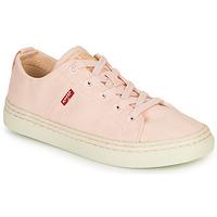 鞋子 女士 球鞋基本款 Levi's 李维斯 SHERWOOD S LOW 玫瑰色