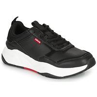 鞋子 女士 球鞋基本款 Levi's 李维斯 WEST 黑色