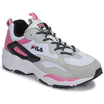 鞋子 女士 球鞋基本款 Fila RAY TRACER CB WMN 白色 / 玫瑰色