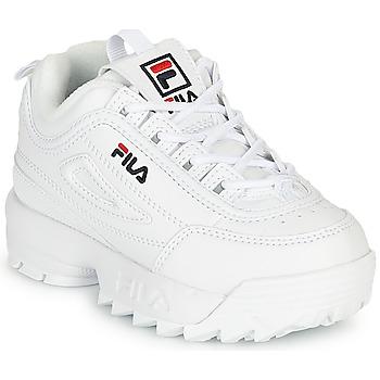 鞋子 儿童 球鞋基本款 Fila DISRUPTOR INFANTS 白色