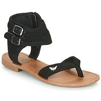 鞋子 女士 凉鞋 Les P'tites Bombes VALENTINE 黑色