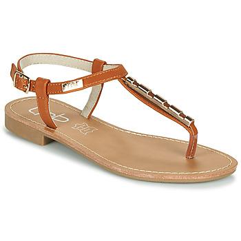 鞋子 女士 凉鞋 Les P'tites Bombes MANEL 驼色