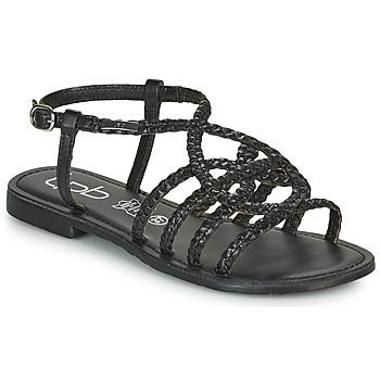 鞋子 女士 凉鞋 Les P'tites Bombes ARIA 黑色