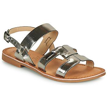 鞋子 女士 凉鞋 Les P'tites Bombes BRANDY 银灰色