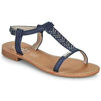 鞋子 女士 凉鞋 Les P'tites Bombes EMILIE 海蓝色