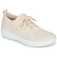 鞋子 女士 球鞋基本款 FitFlop F-SPORTY UBERKNIT SNEAKERS 玫瑰色