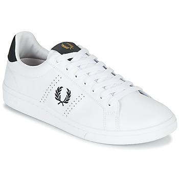 鞋子 男士 球鞋基本款 Fred Perry B721 LEATHER 白色