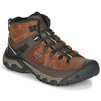 鞋子 男士 登山 Keen TARGHEE III MID WP 棕色