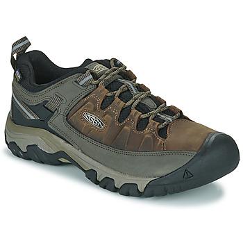 鞋子 男士 登山 Keen TARGHEE III WP 棕色