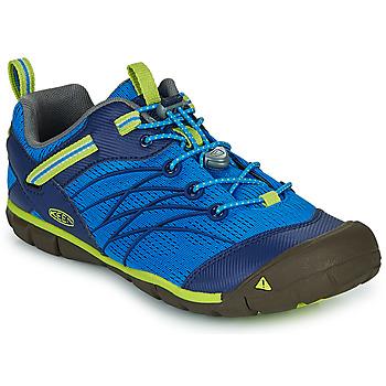鞋子 男孩 运动凉鞋 Keen CHANDLER CNX 蓝色 / 绿色