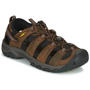 鞋子 男士 运动凉鞋 Keen TARGHEE III SANDAL 棕色