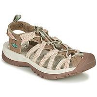鞋子 女士 运动凉鞋 Keen WHISPER 米色