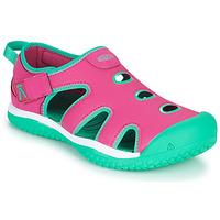 鞋子 女孩 运动凉鞋 Keen STINGRAY 紫罗兰 / 蓝色