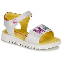 鞋子 女孩 凉鞋 Agatha Ruiz de la Prada 阿嘉莎·鲁兹·德 SMILES 白色