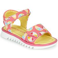 鞋子 女孩 凉鞋 Agatha Ruiz de la Prada 阿嘉莎·鲁兹·德 SMILES 玫瑰色 / 多彩