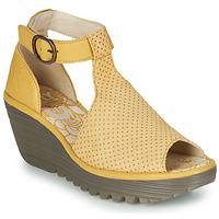 鞋子 女士 涼鞋 Fly London YALLS 黃色