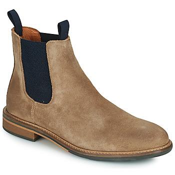 鞋子 男士 短筒靴 Schmoove PILOT-CHELSEA 棕色 / 蓝色