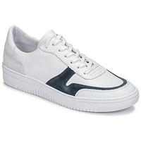 鞋子 男士 球鞋基本款 Schmoove EVOC-SNEAKER 白色 / 蓝色