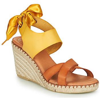 鞋子 女士 凉鞋 Pataugas FIONA 棕色 / 黄色
