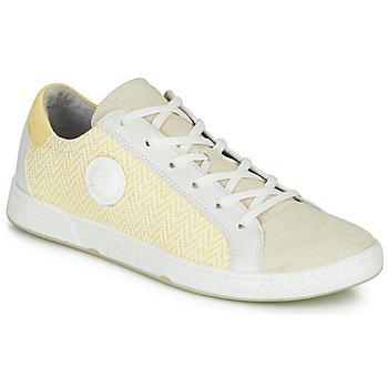 鞋子 女士 球鞋基本款 Pataugas JUNE/N 奶油色 / 黄色