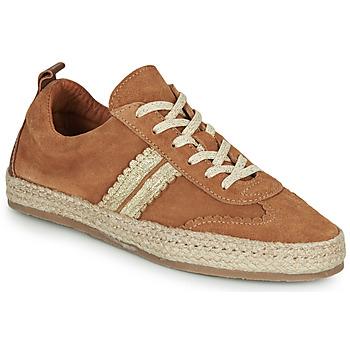 鞋子 女士 帆布便鞋 Pataugas PIA 棕色 / 金色
