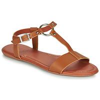 鞋子 女士 凉鞋 Esprit 埃斯普利 KONA T STRAP 棕色