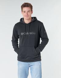 衣服 男士 卫衣 Columbia 哥伦比亚 CSC Basic Logo Hoodie 黑色