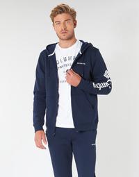 衣服 男士 卫衣 Columbia 哥伦比亚 Columbia Logo Fleece Full zip Collegiate / 海军蓝