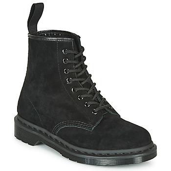鞋子 短筒靴 Dr Martens 1460 MONO SOFT BUCK 黑色