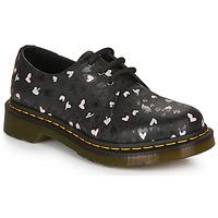 鞋子 女士 德比 Dr Martens 1461 HEARTS 黑色