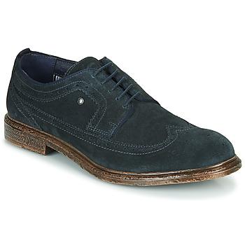 鞋子 男士 德比 Base London ONYX 海蓝色