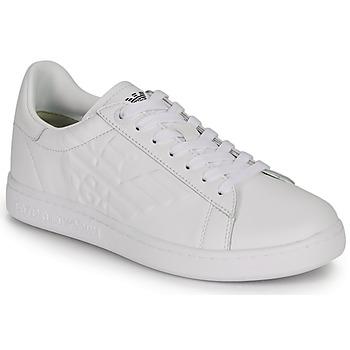 鞋子 男士 球鞋基本款 EA7 EMPORIO ARMANI CLASSIC NEW CC 白色
