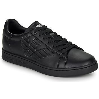 鞋子 男士 球鞋基本款 EA7 EMPORIO ARMANI CLASSIC NEW CC 黑色