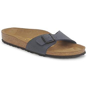 鞋子 女士 休閑涼拖/沙灘鞋 Birkenstock 勃肯 MADRID 海軍藍