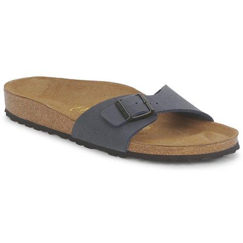 鞋子 女士 休闲凉拖/沙滩鞋 Birkenstock 勃肯 MADRID 海军蓝