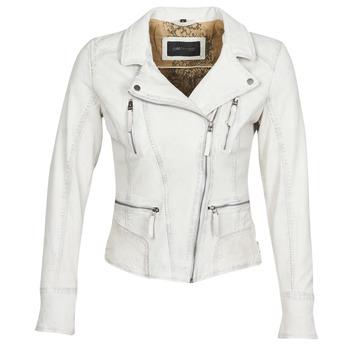 衣服 女士 皮夹克/ 人造皮革夹克 Oakwood CAMERA 白色