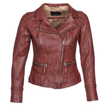 衣服 女士 皮夹克/ 人造皮革夹克 Oakwood CAMERA 红色