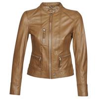 衣服 女士 皮夹克/ 人造皮革夹克 Oakwood EACH 棕色