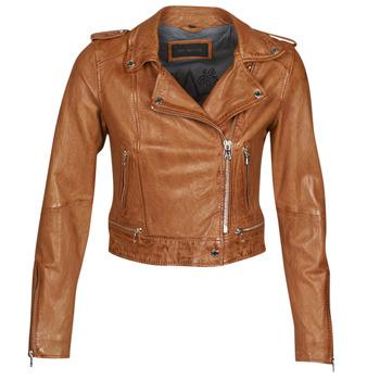 衣服 女士 皮夹克/ 人造皮革夹克 Oakwood KYOTO 棕色