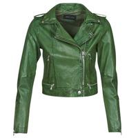 衣服 女士 皮夹克/ 人造皮革夹克 Oakwood KYOTO 绿色
