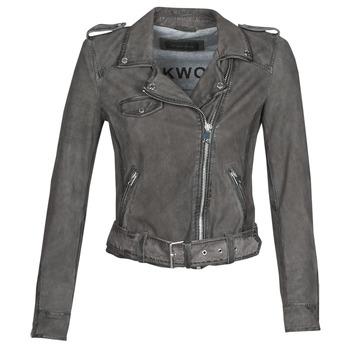 衣服 女士 皮夹克/ 人造皮革夹克 Oakwood PLEASE 灰色