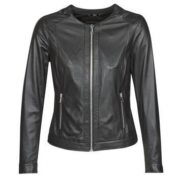 衣服 女士 皮夹克/ 人造皮革夹克 Oakwood PLEASE 黑色