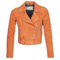 衣服 女士 皮夹克/ 人造皮革夹克 Oakwood KEREN 铁锈色