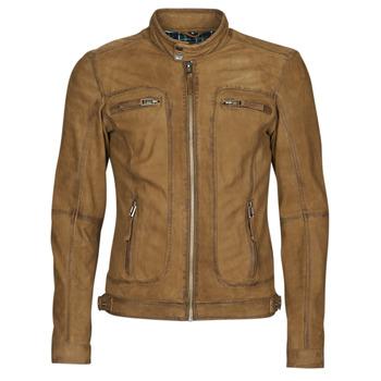 衣服 男士 皮夹克/ 人造皮革夹克 Oakwood PLEASE 棕色